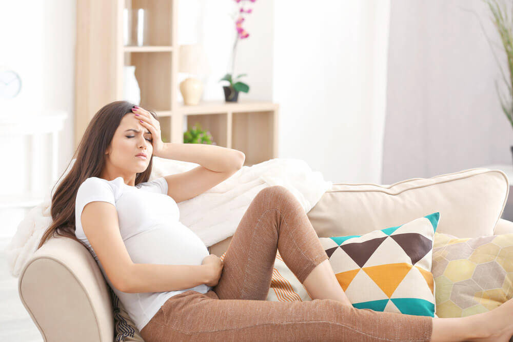 Experiencing pregnancy pain